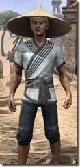 Budi-Shirt and Galligaskins - Male Close Front