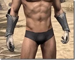 Daggerfall Covenant Iron Gauntlets - Male Front