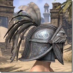 Daggerfall Covenant Iron Helm - Male Right