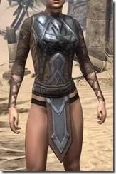 Dark Brotherhood Iron Cuirass - Female Front