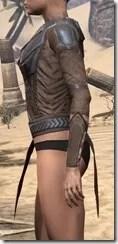 Dark Brotherhood Iron Cuirass - Female Side