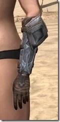Dark Brotherhood Iron Gauntlets - Female Side