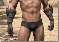 Dark Brotherhood Iron Gauntlets - Male Front