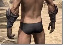 Dark Brotherhood Iron Gauntlets - Male Rear