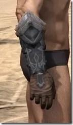 Dark Brotherhood Iron Gauntlets - Male Right