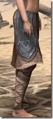Dark Brotherhood Iron Greaves - Female Right