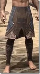 Dark Brotherhood Iron Greaves - Male Front