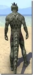 Dragon Vassal Body Markings - Argonian Rear