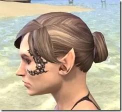 Dragonbone Chain Face Marking - Female Side