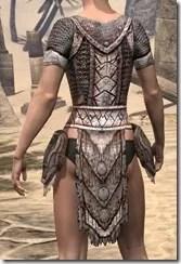 Draugr Iron Cuirass - Female Rear