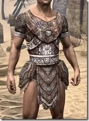 Draugr Iron Cuirass - Male Front