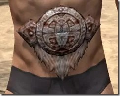 Draugr Iron Girdle - Male Front