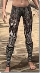 Draugr Iron Greaves - Female Front