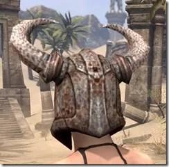 Draugr Iron Helm - Female Rear