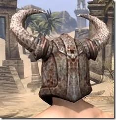 Draugr Iron Helm - Male Rear
