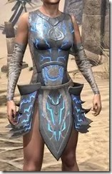Dro-m'Athra Iron Cuirass - Female Front