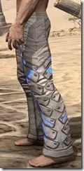 Dro-m'Athra Iron Greaves - Male Side