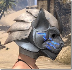 Dro-m'Athra Iron Helm - Female Right