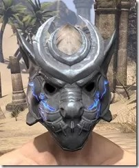 Dro-m'Athra Iron Helm - Male Front