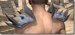 Dro-m'Athra Rawhide Arm Cops - Male Rear