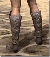 Dro-m'Athra Rawhide Boots - Male Rear