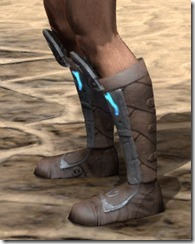 Dro-m'Athra Rawhide Boots - Male Side