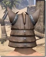 Dro-m'Athra Rawhide Helmet - Male Rear