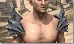 Ebonheart Pact Homespun Epaulets - Male Front