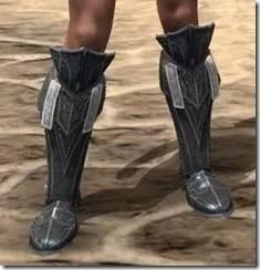 Ebony Rawhide Boots - Female Front