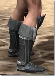 Ebony Rawhide Boots - Female Right