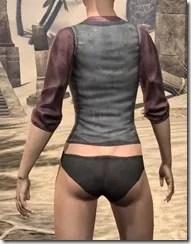 Layered Shirt - Female Rear