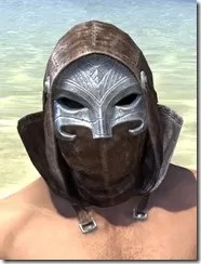Malefic Standing Collar Hood - Male Front