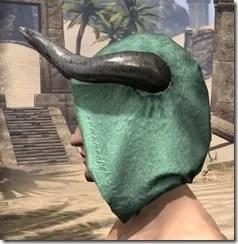 Minotaur Homespun Hat - Male Side