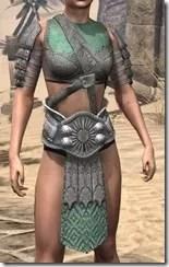 Minotaur Homespun Jerkin - Female Front