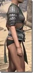 Minotaur Homespun Jerkin - Female Right