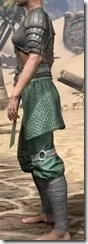 Minotaur Homespun Robe 1- Female Side