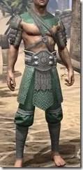 Minotaur Homespun Robe 1- Male Front