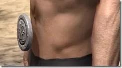 Minotaur Rawhide Belt - Male Side