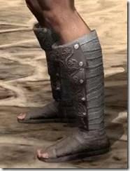 Minotaur Rawhide Boots - Male Side