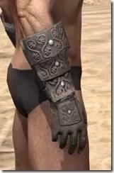 Minotaur Rawhide Bracers - Male Right