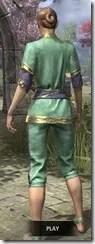 Moon-Sugar Festival Suit - Dyed Rear