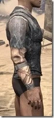 Order of the Hour Iron Cuirass - Male Right