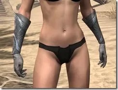 Order of the Hour Iron Gauntlets - Female Front
