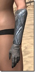 Order of the Hour Iron Gauntlets - Female Side