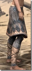 Order of the Hour Iron Greaves - Female Right
