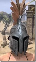 Order of the Hour Iron Helm - Female Front