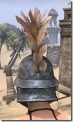 Order of the Hour Iron Helm - Female Rear