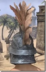 Order of the Hour Iron Helm - Male Rear