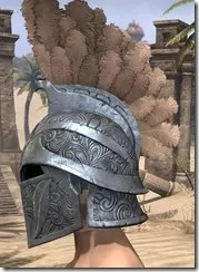 Order of the Hour Iron Helm - Male Side
