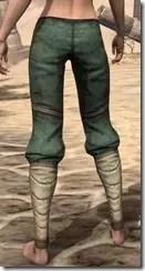 Outlaw Homespun Breeches - Female Rear